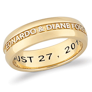Gold Plated Sterling Silver Evermore Ring
