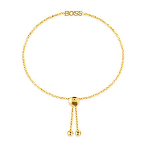 14k Yellow Gold BOSS Bracelet