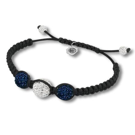 Sterling Silver Penn State Ball Bracelet