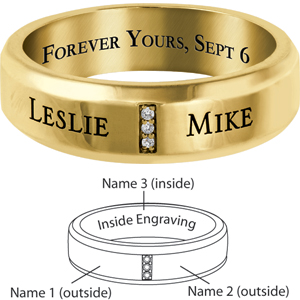 14kt Yellow Gold Devoted Commitment Band