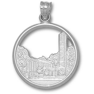 Mississippi State 7/8in Sterling Silver Chapel Pendant