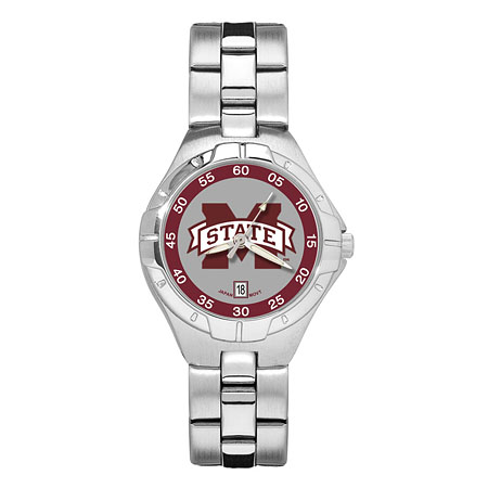 Mississippi State Woman's Stainless Pro II Watch