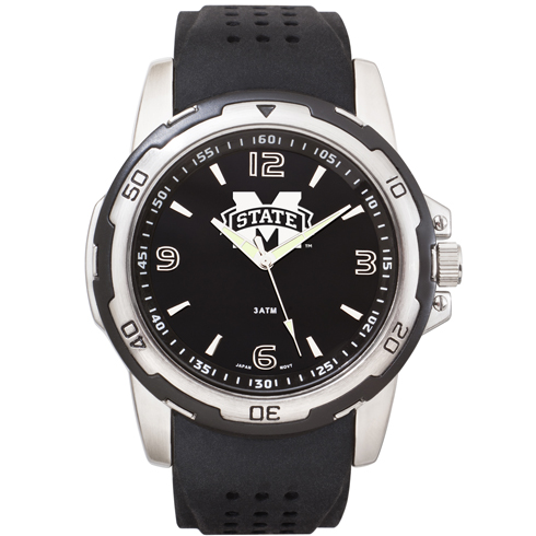 Mississippi State University Stealth Men's Sport Watch