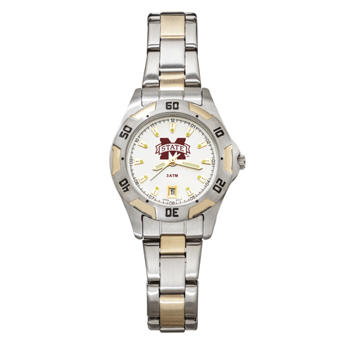 Mississippi State University All-Pro Women's Two-Tone Watch