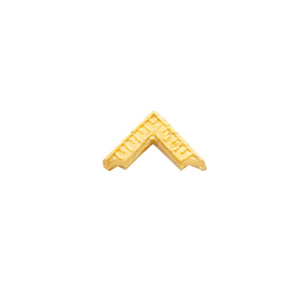 10k Yellow Gold Master Mason Square Tie Tac