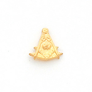 10kt Yellow Gold 3/8in Past Master Mason Tie Tac