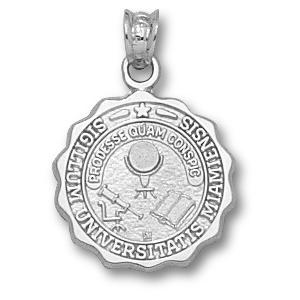 Sterling Silver 5/8in Miami University Seal Pendant