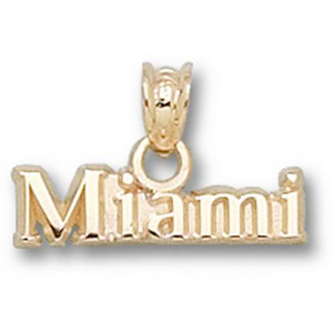 Miami Red Hawks 3/16in 10k Charm