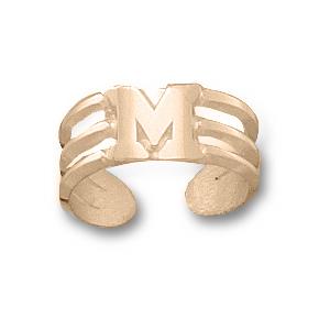 Miami Red Hawks 14k Toe Ring