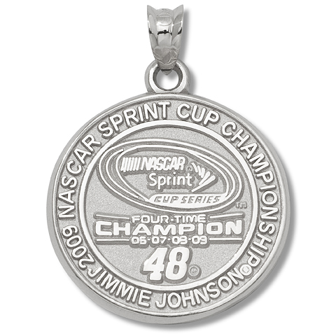 Jimmie Johnson Champion Sterling Silver