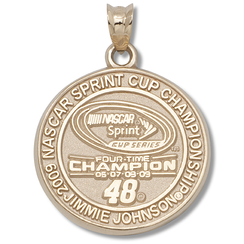 Jimmie Johnson Champion 14kt Yellow Gold