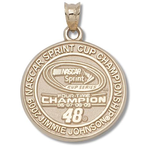 Jimmie Johnson Champion 10kt Yellow Gold