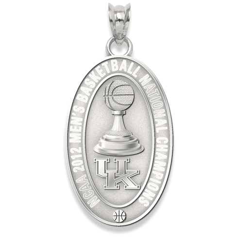 2012 University of Kentucky NCAA Basketball Champs 7/8in Silver Charm