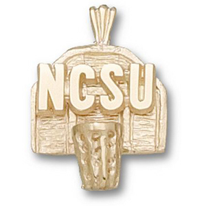 North Carolina State 5/8in 10k Pendant