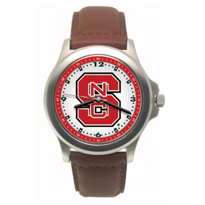 North Carolina State Wolfpack Ladies' Rookie Leather Watch