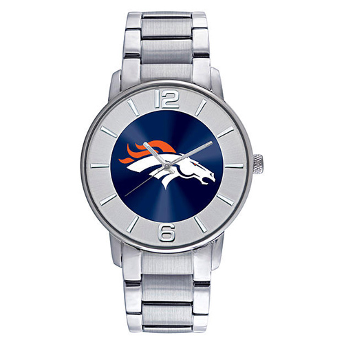 Denver Broncos All Pro Stainless Steel Watch