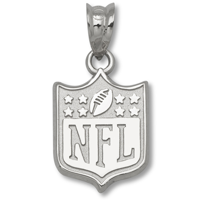 New NFL Shield 1/2in. Pendant Silver