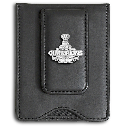 Boston Bruins 2011 Champions Leather Wallet