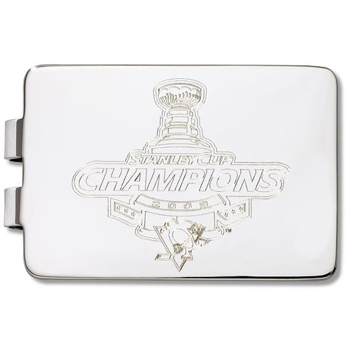 2009 NHL Champs Pittsburgh Penguins Money Clip