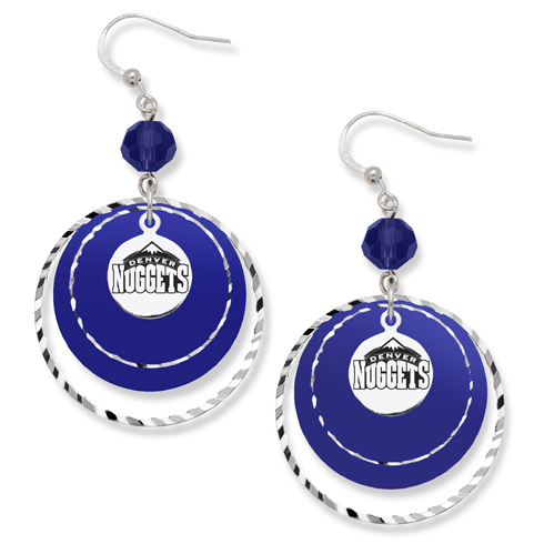 Denver Nuggets Game Day Earrings
