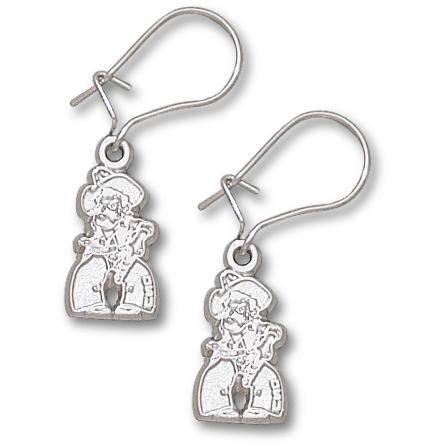 OSU 1/2in Pete Dangle Earrings Sterling Silver