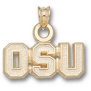 Ohio State Buckeyes 5/16in 14k Team Pendant