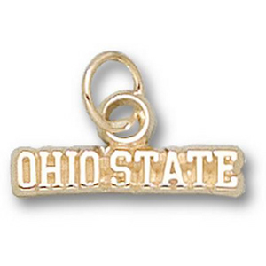 Ohio State 1/8in 14k Charm