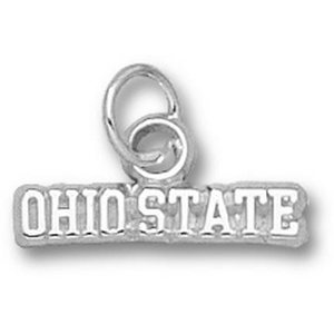 Ohio State 1/8in Sterling Silver Charm