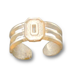Ohio State Toe Ring 14kt Yellow Gold