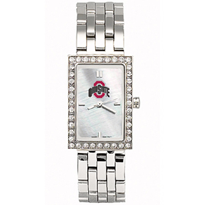 Ohio State Buckeyes Starlette Stainless Steel Watch
