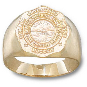 Ohio Bobcats Men's Seal Ring - 14k Gold