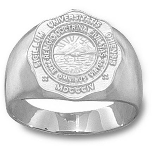 Ohio Bobcats Men's Seal Ring - Sterling Silver