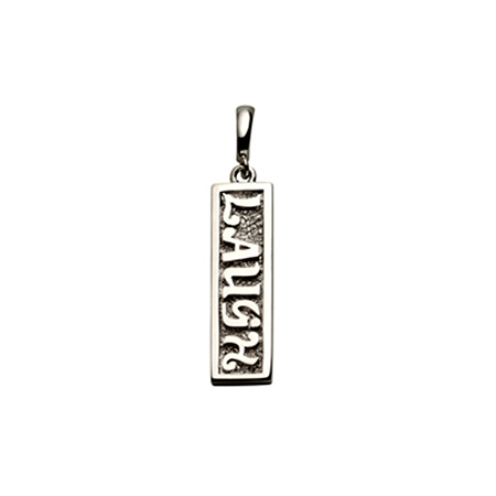 Sterling Silver Laugh Pendant