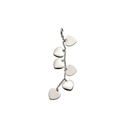 Sterling Silver Hearts Galore Pendant