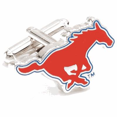 SMU Mustangs Cufflinks