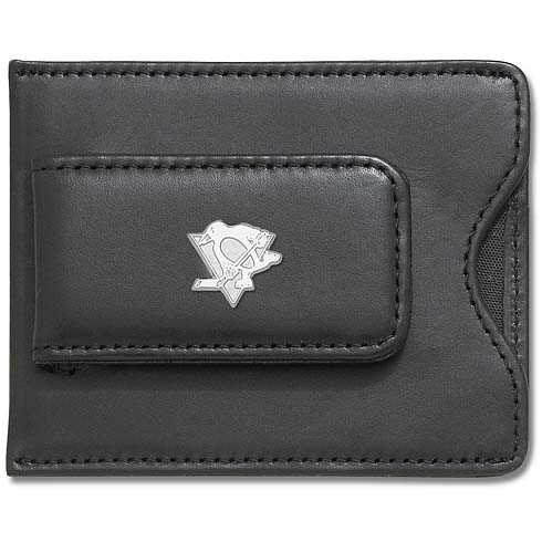 Pittsburgh Penguins Wallet with Sterling Silver Charm