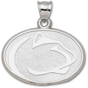 PSU Giant 1 1/4in Sterling Silver Pendant