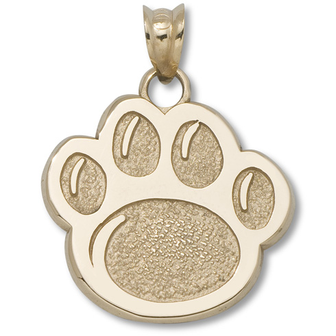 Penn State Nittany Lions 5/8in 14k Paw Pendant