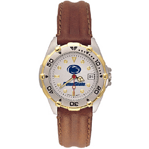 Penn State Nittany Lions Ladies' All Star Leather Watch