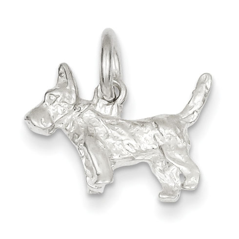 Sterling Silver Scottish Terrier Charm