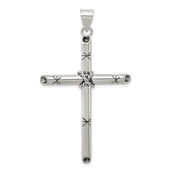 2 1/8in Cross - Sterling Silver