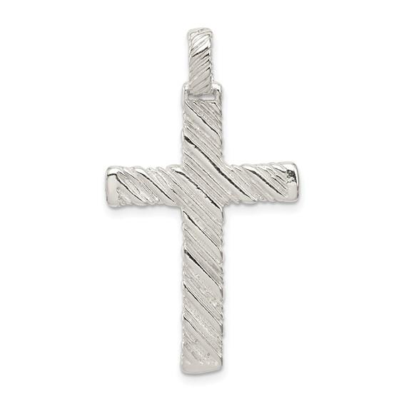1 1/2in Cross - Sterling Silver