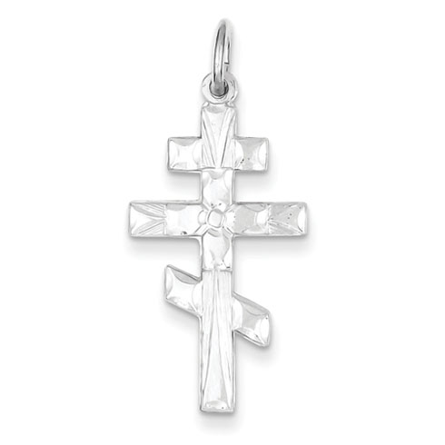 Sterling Silver 1 1/8in St Andrew Cross