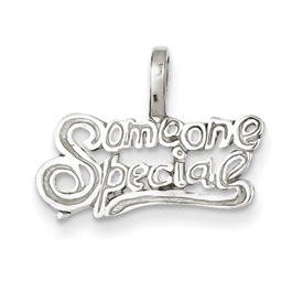 Sterling Silver Someone Special Pendant