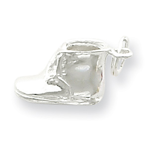 Sterling Silver Baby Shoe Charm