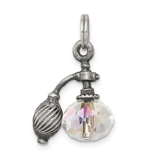 Sterling Silver Perfume Bottle Charm