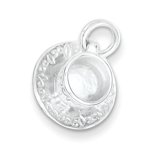 Sterling Silver Cup & Saucer Charm
