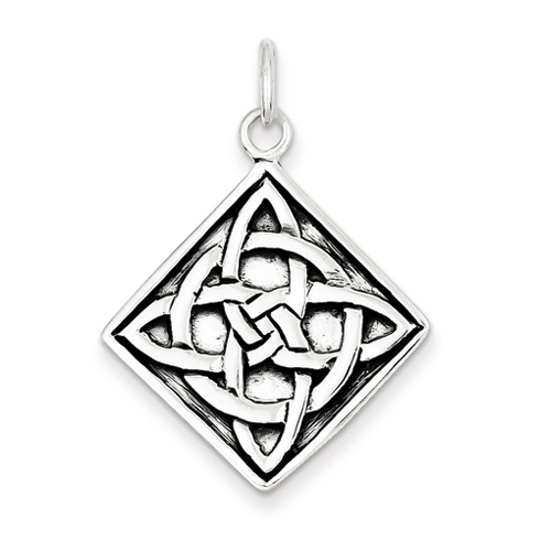 1 /16in Celtic Pendant - Sterling Silver
