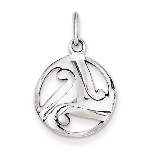 5/8in Celtic Charm - Sterling Silver
