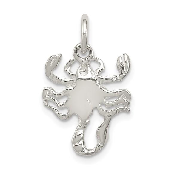 Sterling Silver Scorpian Charm